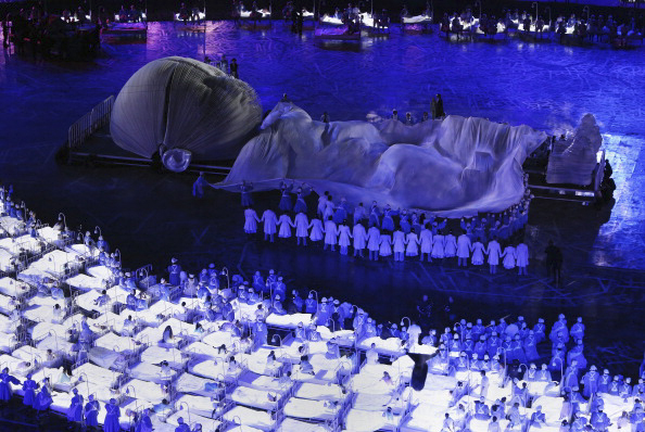 Okultni ritual prilikom otvaranja OI 2012 u Londonu | حم